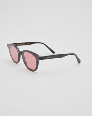 Lang-01(W) Sunglasses in Black/Pink