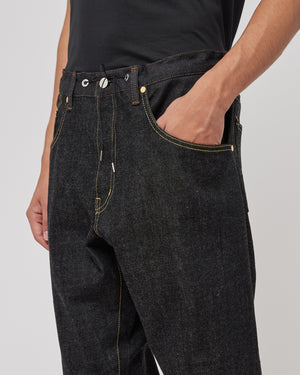 Light Ounce Denim in Black