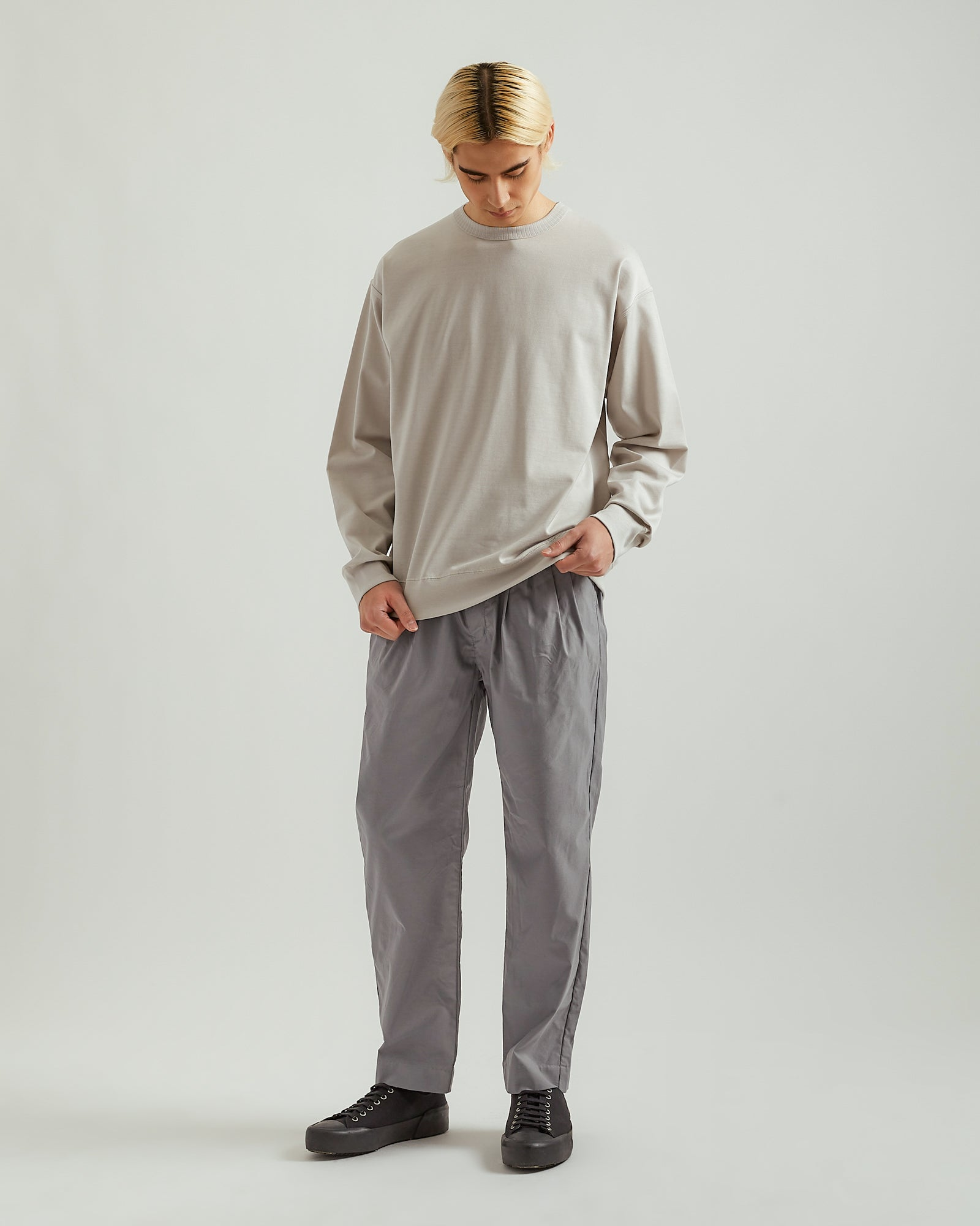 Lightweight Sweatshirt in Gray