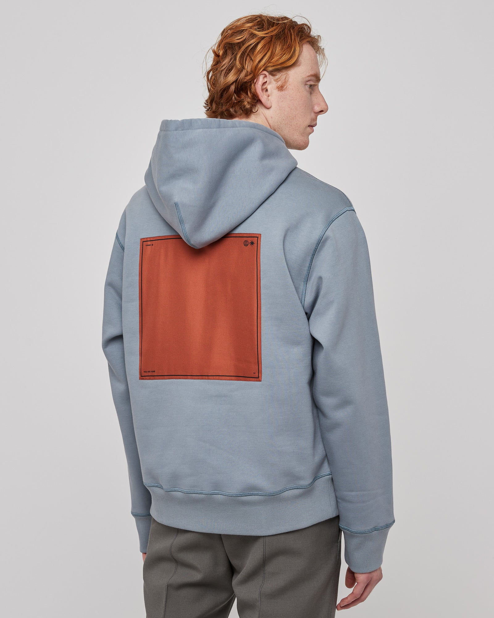 Mark Hoodie in Industrial Blue