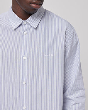 Mark Shirt in Factory Blue