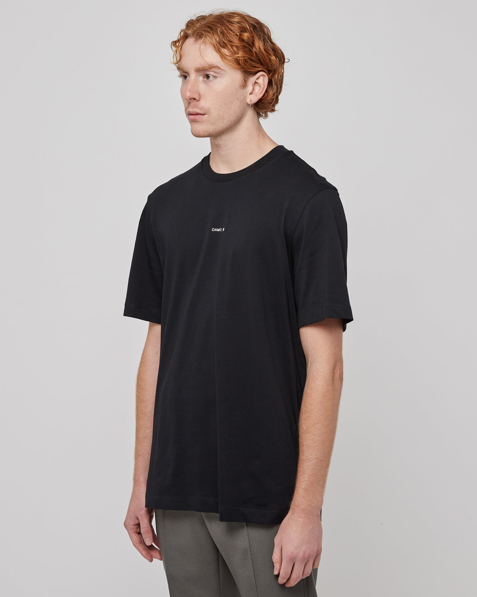 Mark T-Shirt in Black