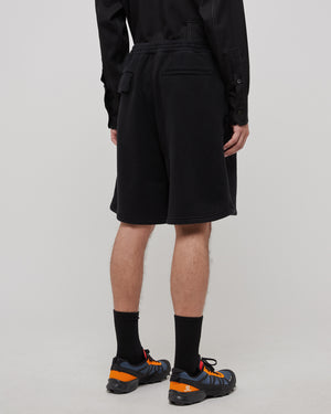 Terry Shorts in Black