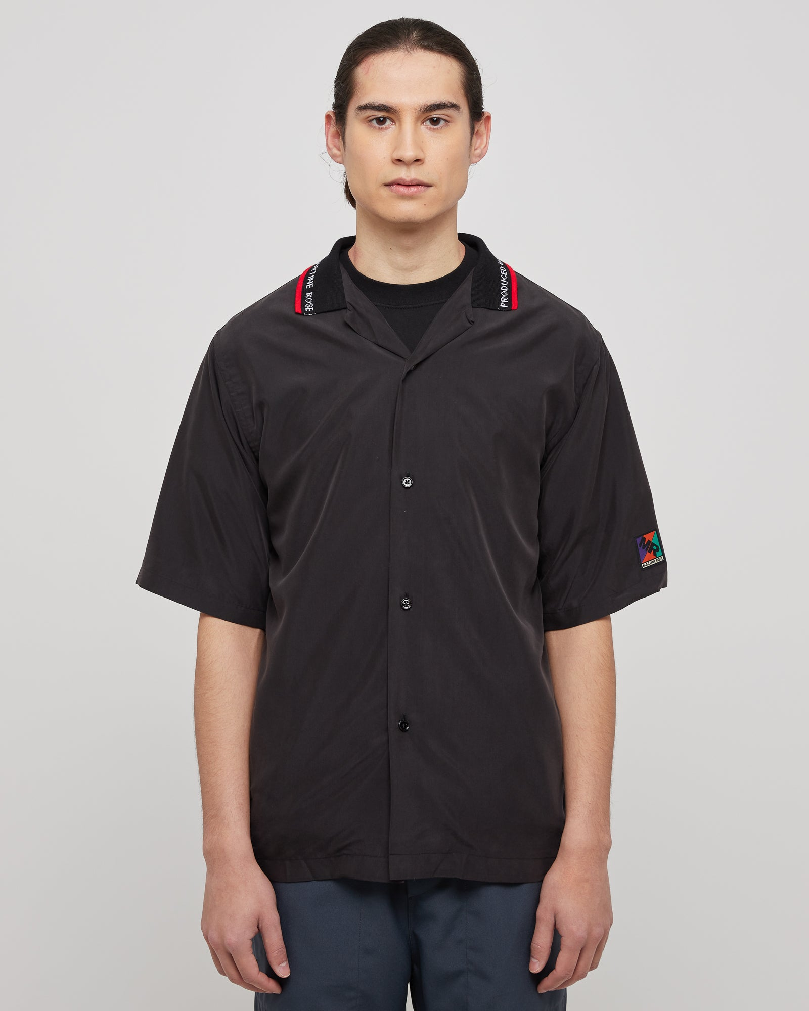 Barrett Shirt in Modal Black