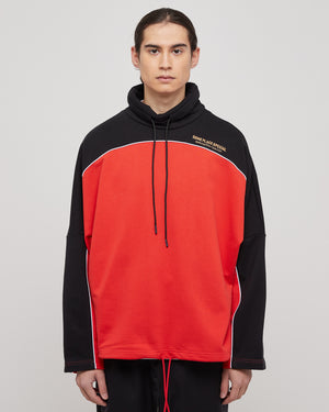 Benz Batwing Sweatshirt in Red