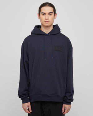 Classic Hoodie in Navy