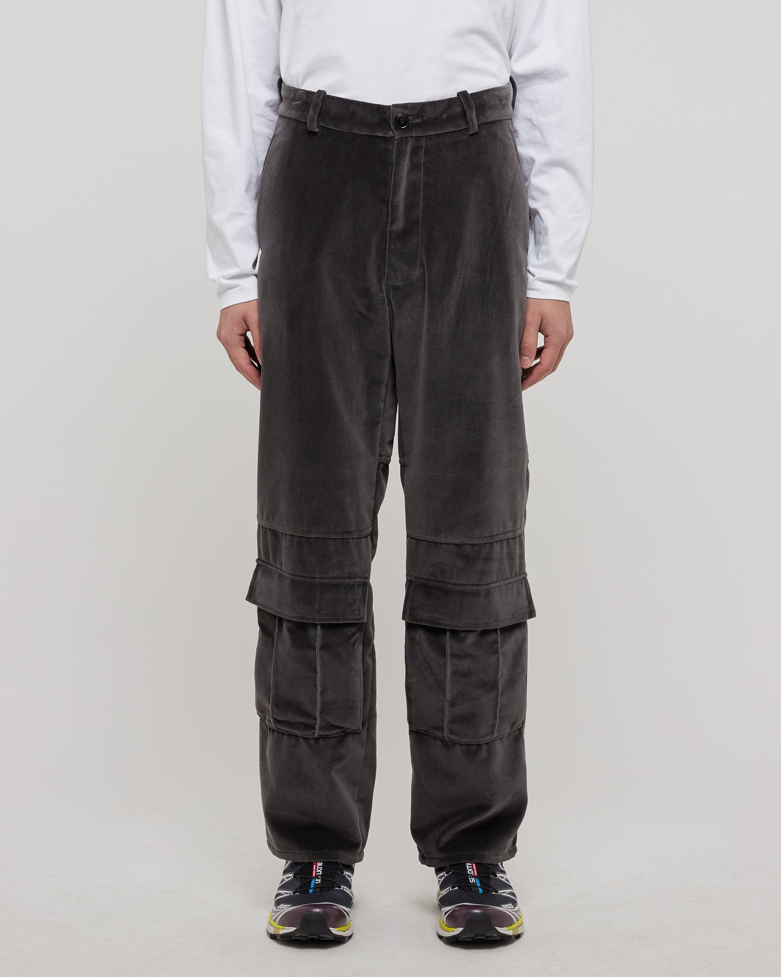 Cook Trousers in Velvet Gray