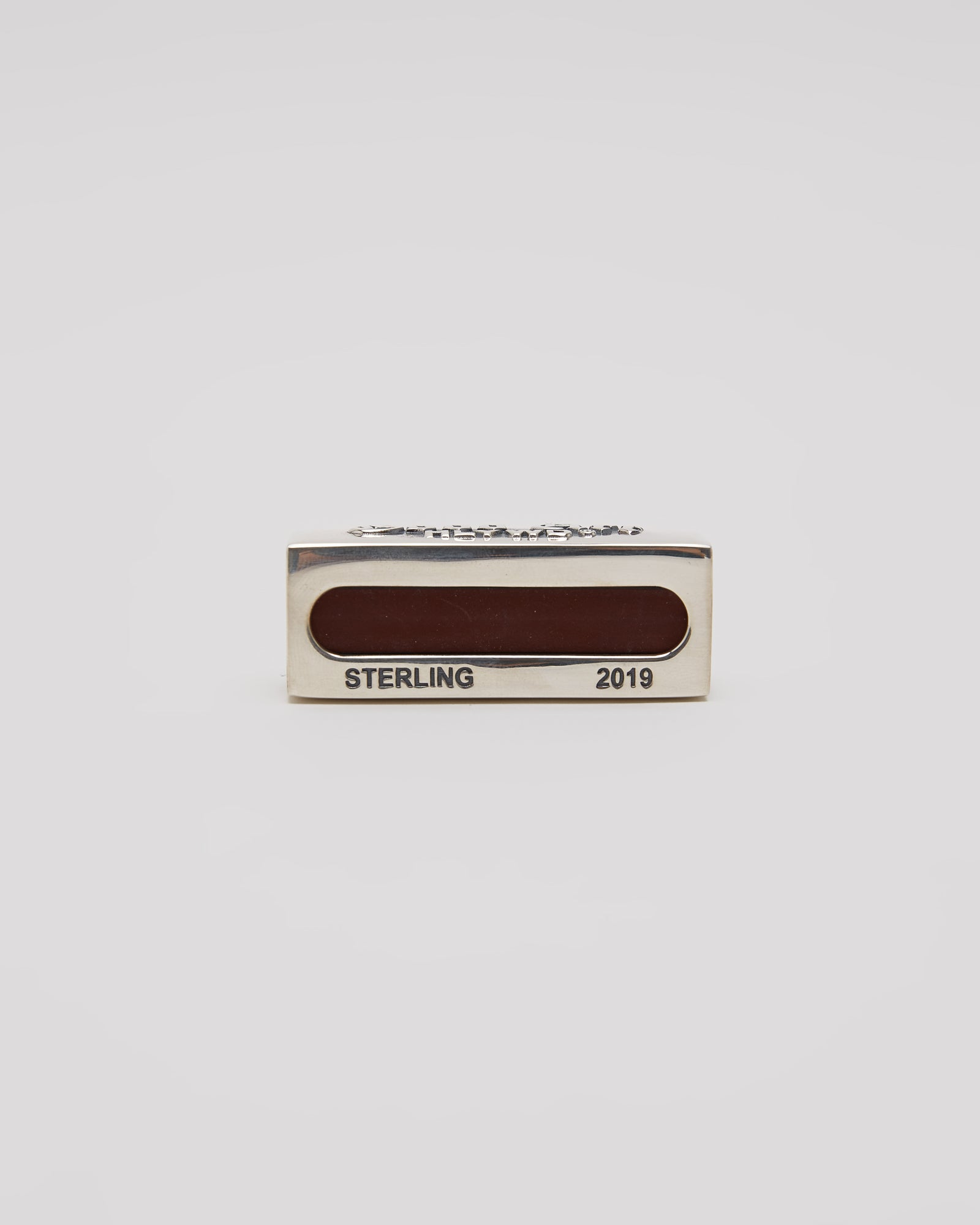 Matchbox Cover, Sterling