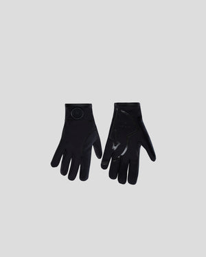 Matte Logo Gloves in Black