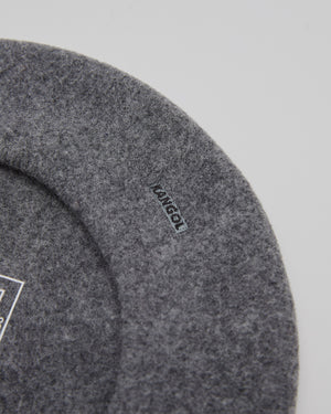 Modelaine Beret in Flannel Gray