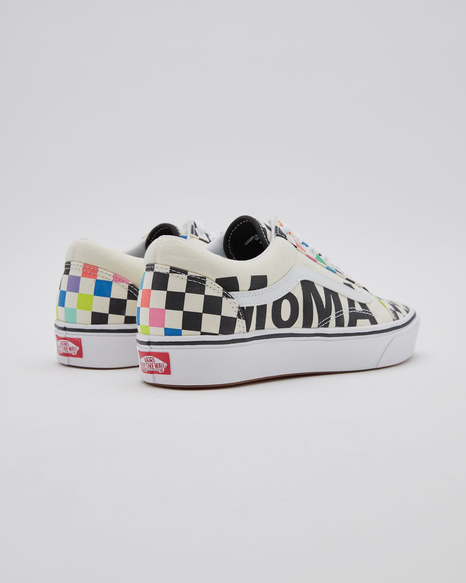 Ua Comfy Cush Old Skool in Checker