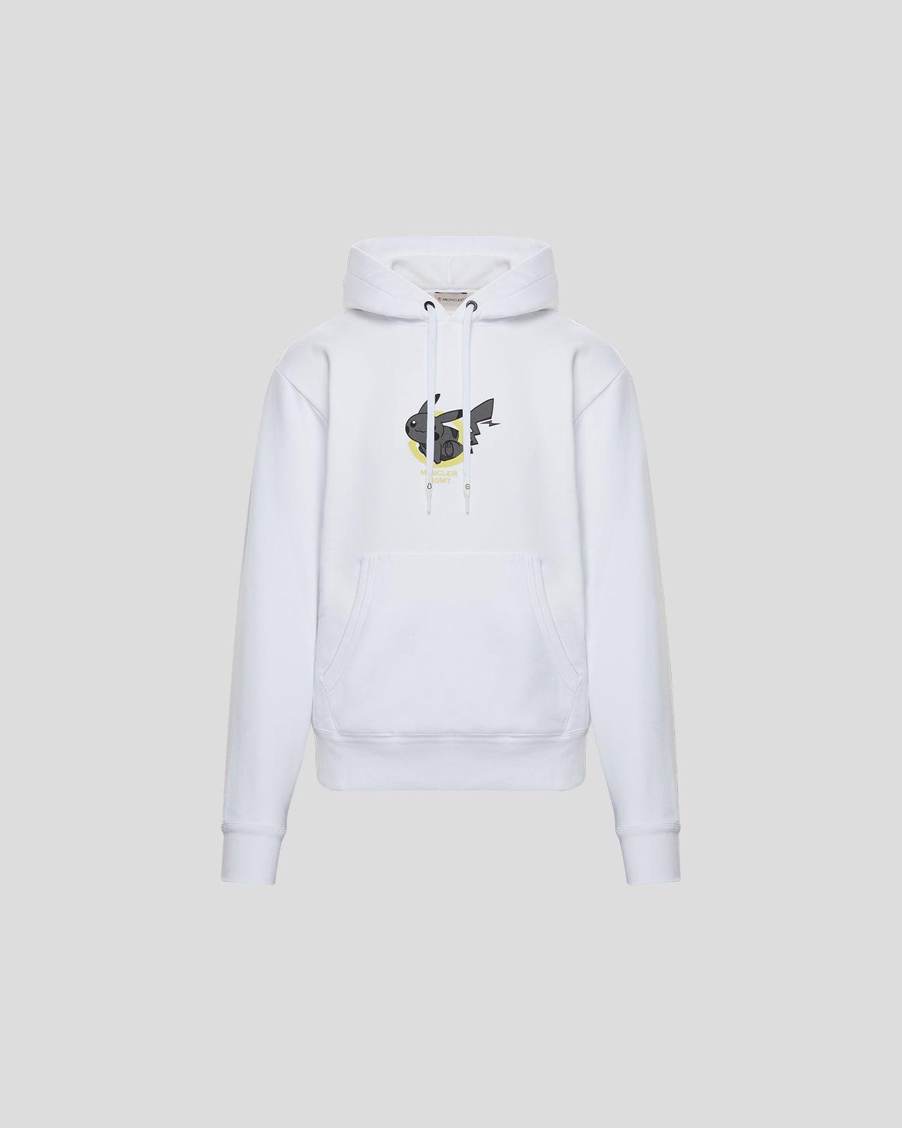 Fragment Hoodie Sweater in White