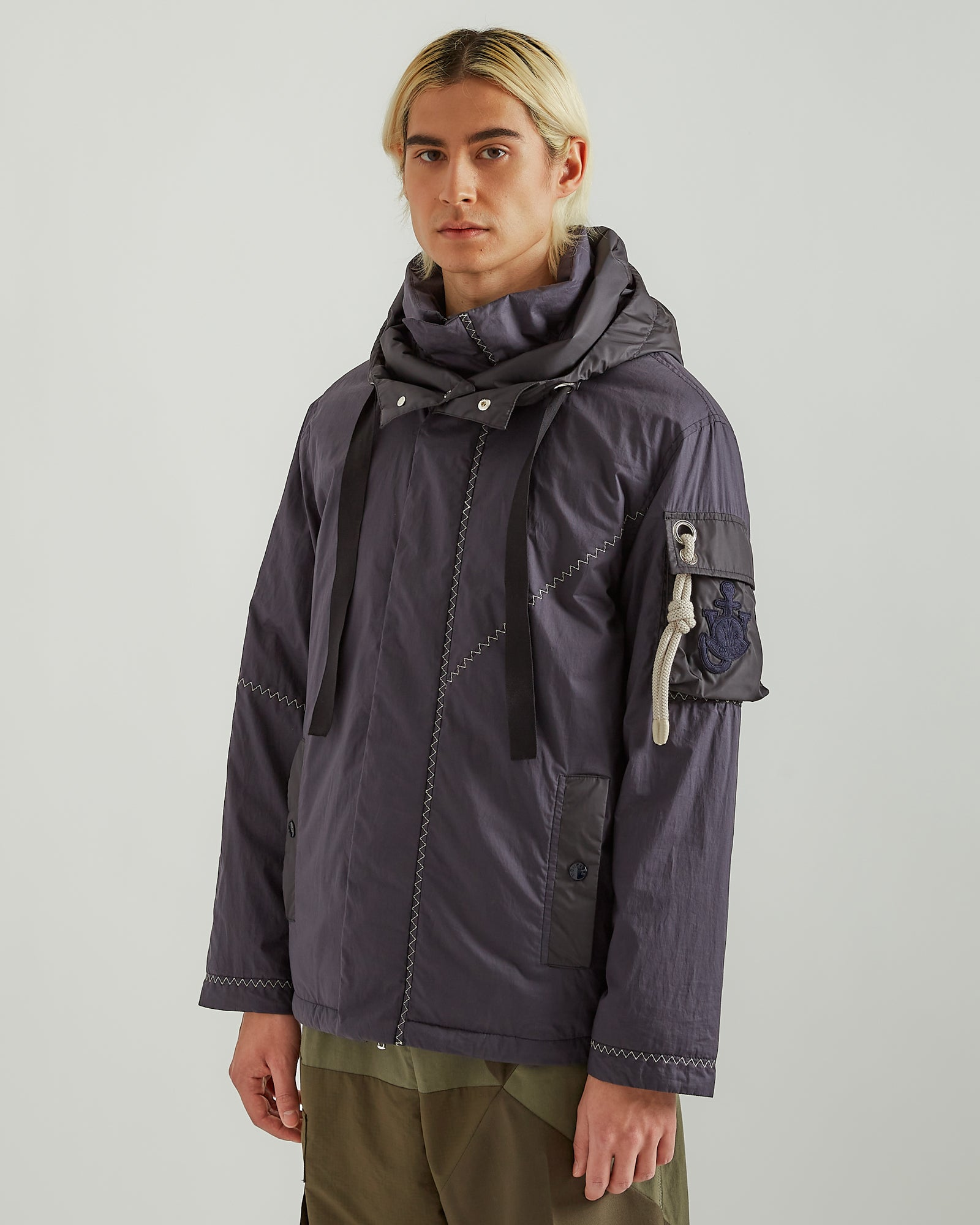1Moncler JW Anderson Albatross Jacket in Navy