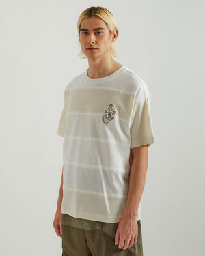 1Moncler JW Anderson Hemp T-Shirt in White