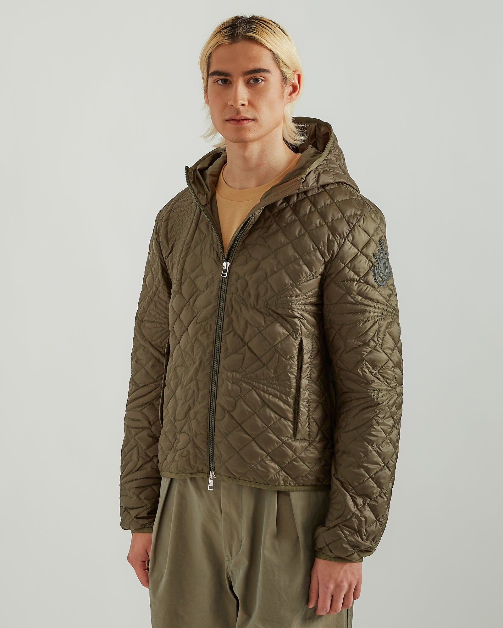 1Moncler JW Anderson Whitby Jacket in Forest Green