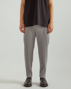 Monthly Colors March Drawstring Trousers in Light Gray
