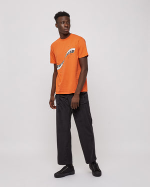 Musical Twist T-Shirt in Orange
