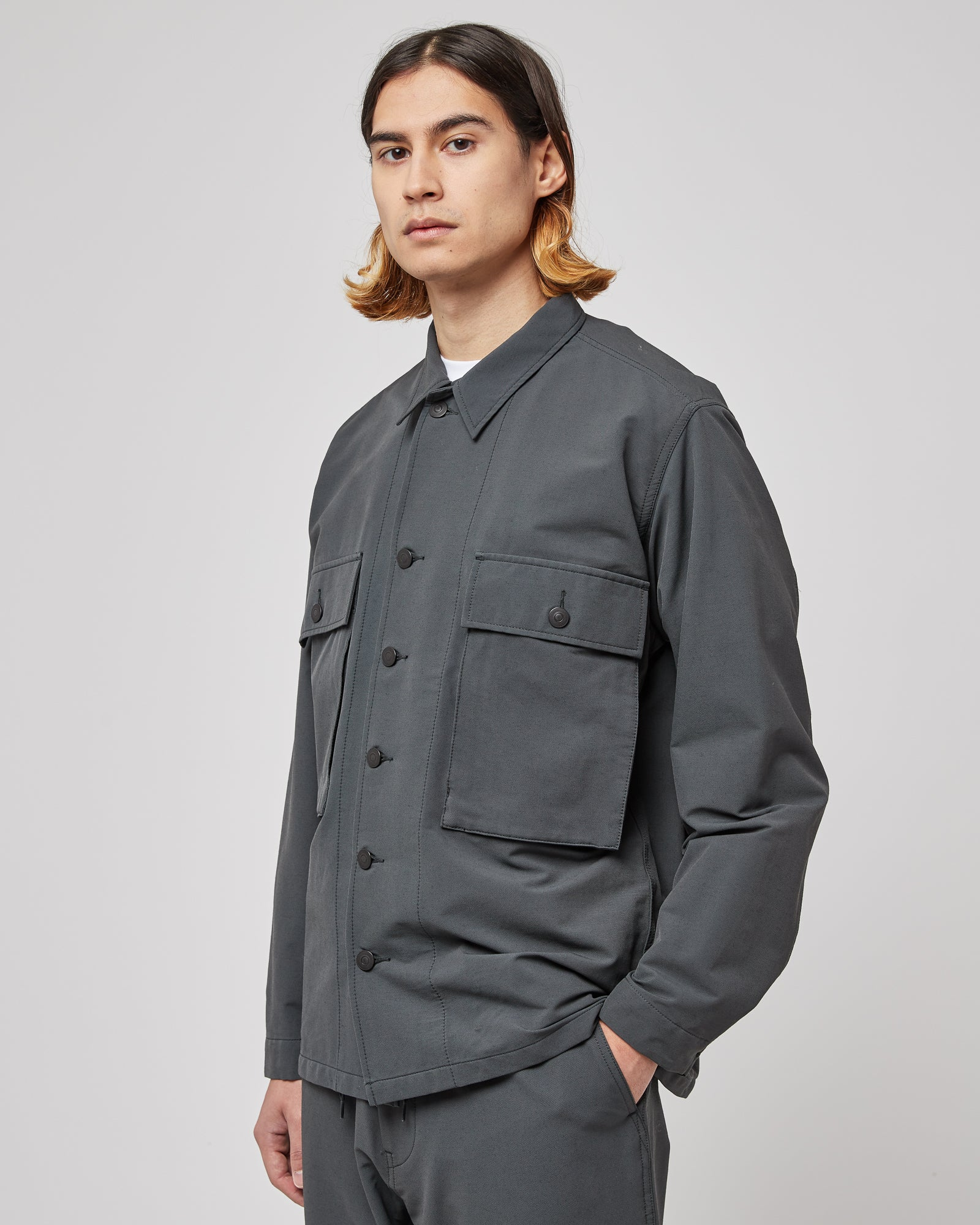 Utility Jacket in Charcoal