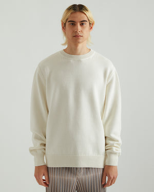 Nameday Sweater in Off White