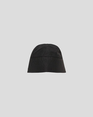 Narrow Bucket Hat With Buckle