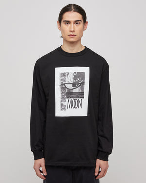 New Order Logo L/S in Black