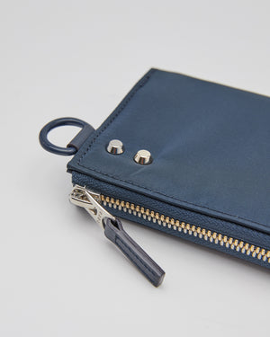 Nylon Wallet in Navy