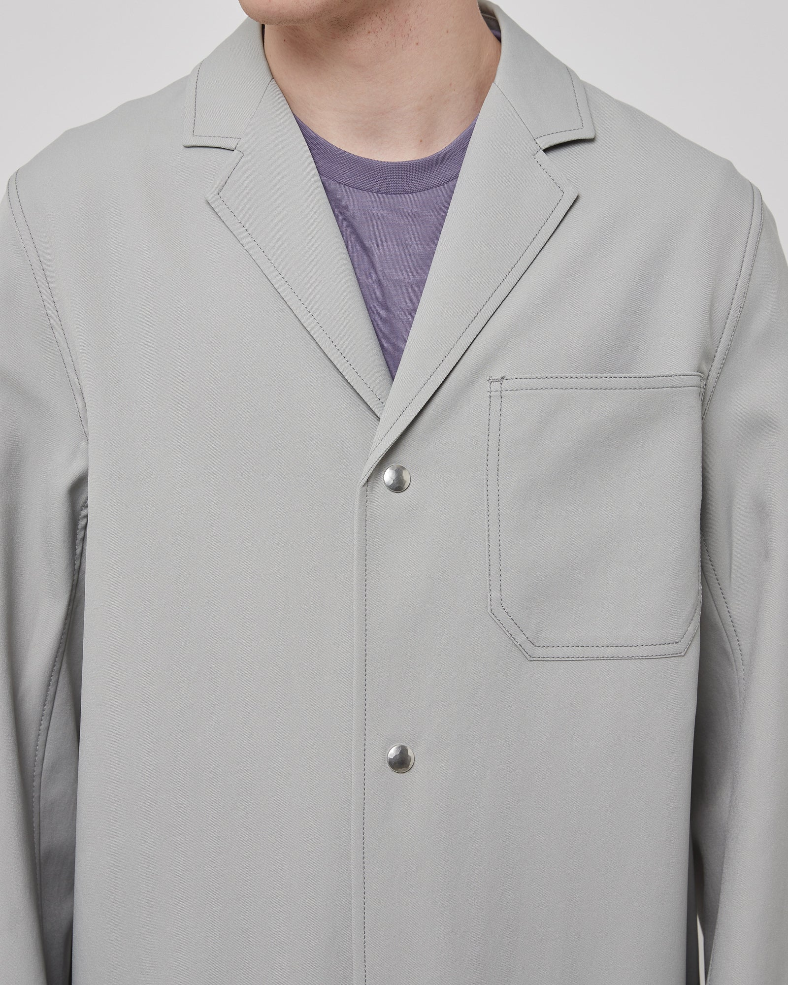 Control Coat in Mineral Gray
