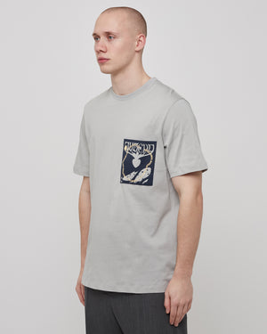 Jugend T-Shirt in Pastel Gray