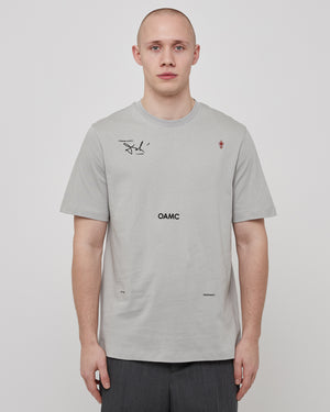 Logic T-Shirt in Pastel Gray
