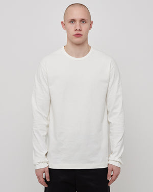 Restraint L/S T-Shirt in Off White