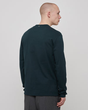 Restraint L/S T-Shirt in Petrol