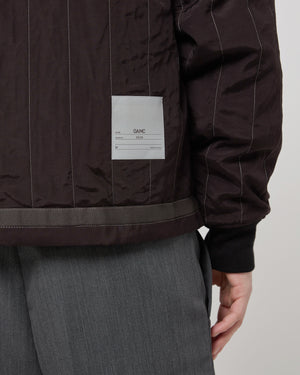 Serra Bomber in Dark Brown
