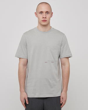 Simone T-Shirt in Mineral Gray