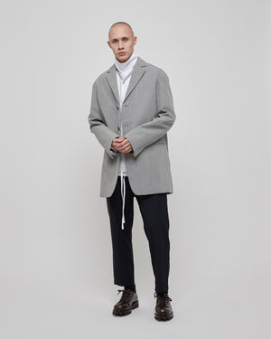 Kurt Wool Mohair jacket in Light Gray