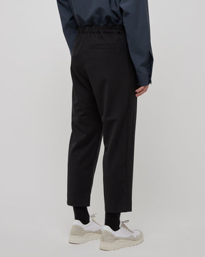 Regs Wool Pant in Black