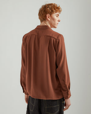 One-Up Shirt in Brown