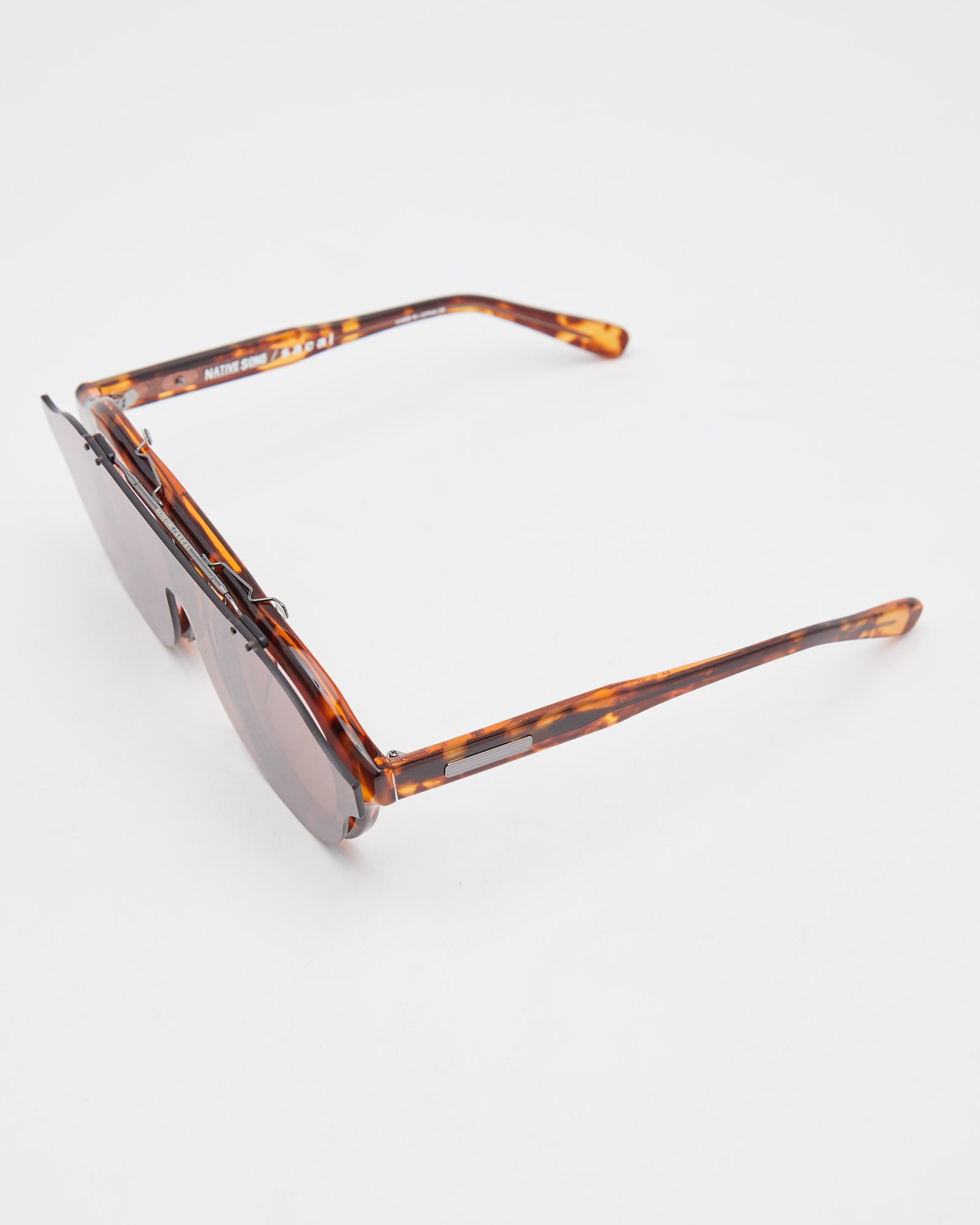 Native Sons x sacai Oppenheim Clip in Orange Turquoise