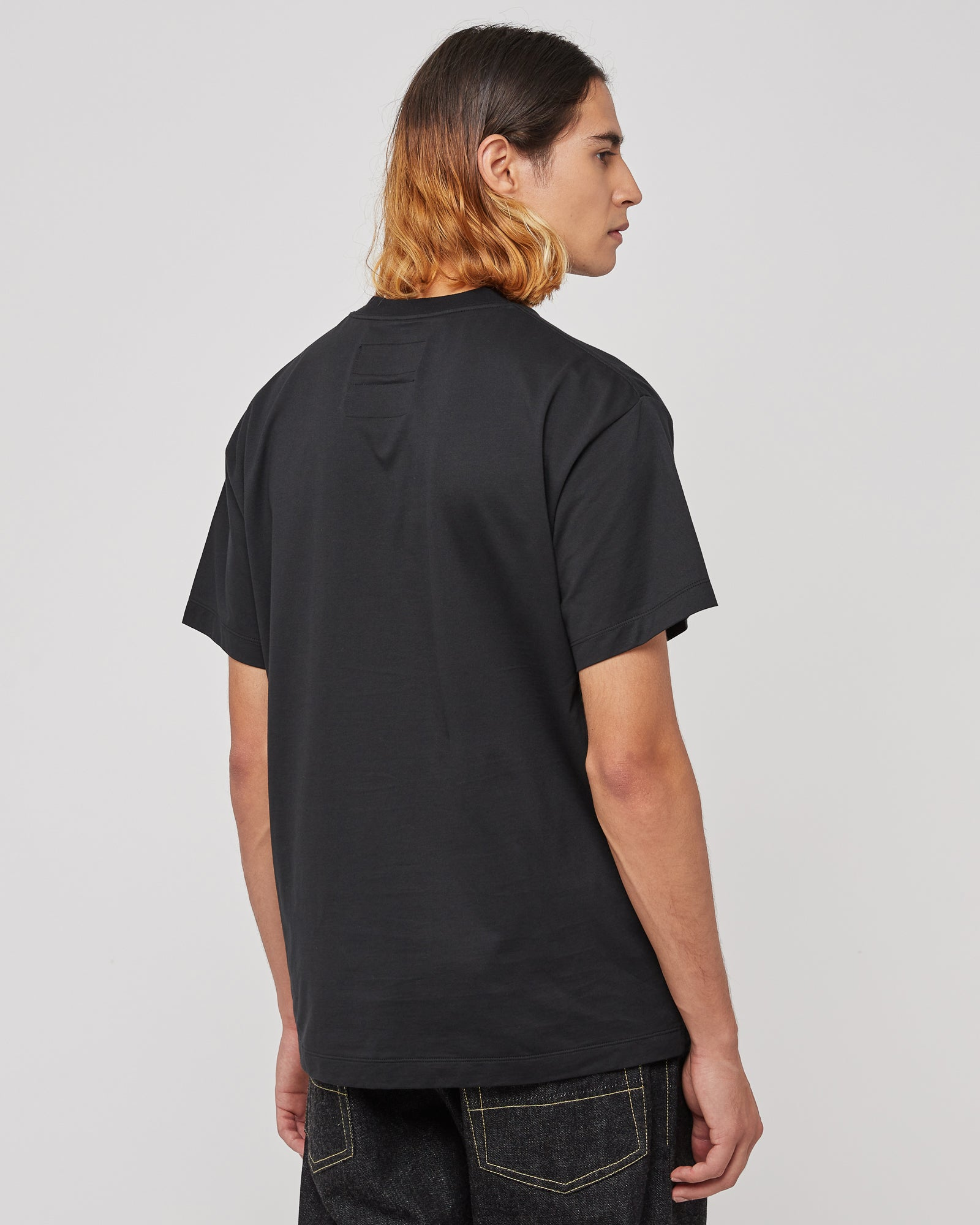 Organic Graphic T-Shirt in Black