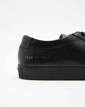 Original Achilles Low Sneakers in Black