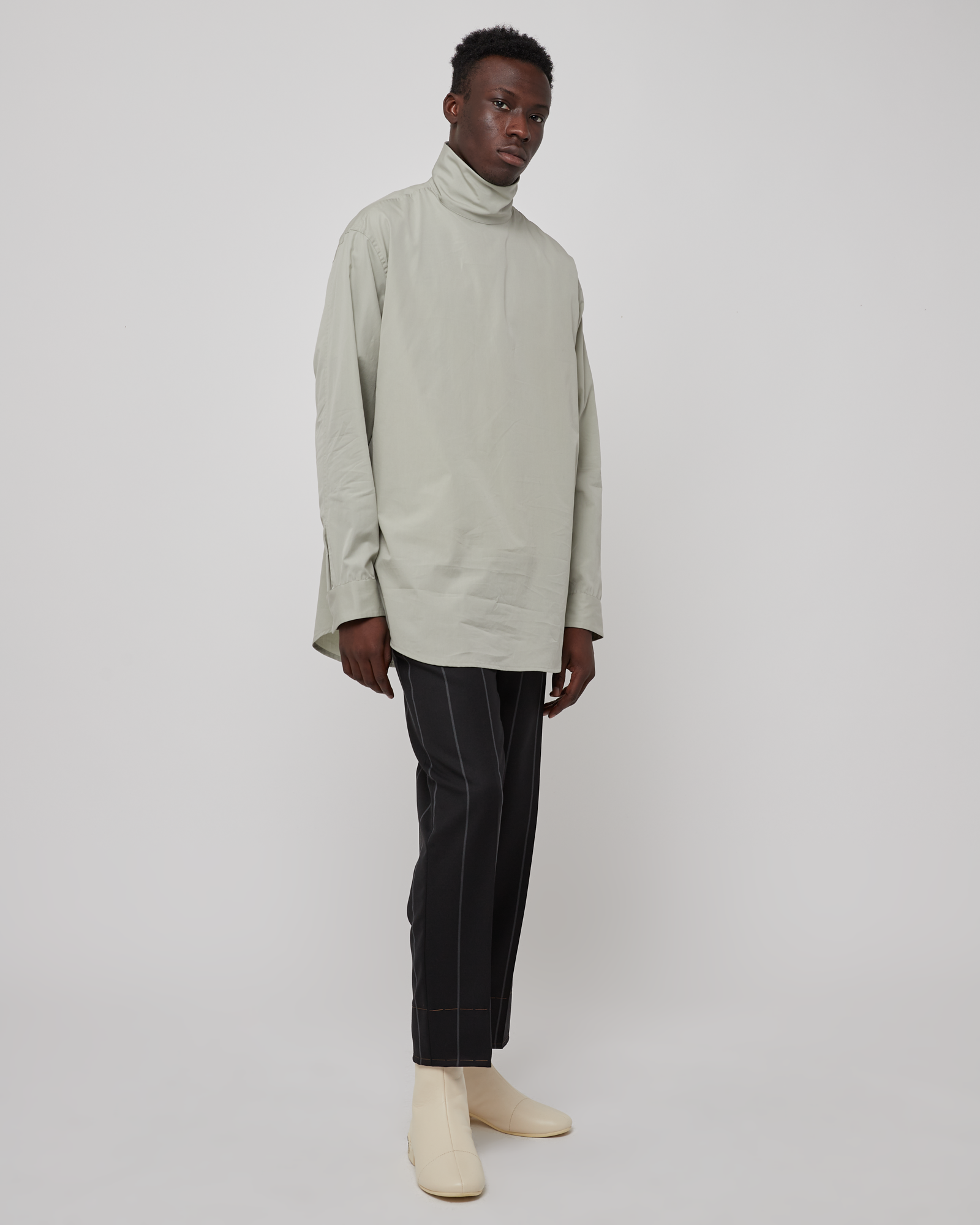Oversized Shirt in London Fog