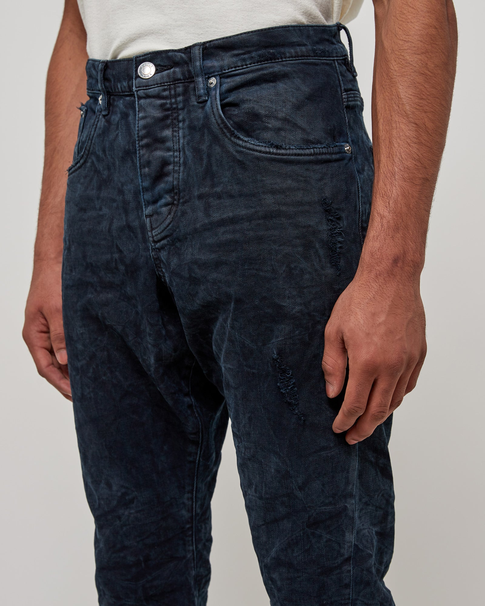 01 Straight Leg Jeans in Overdyed Vintage NS