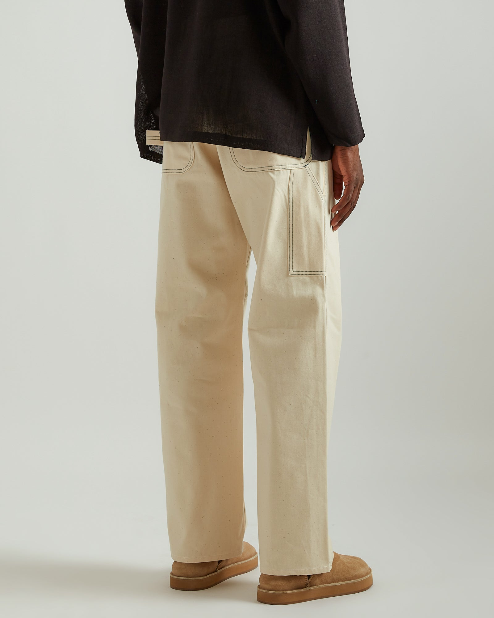 Painter Pant in Off-White