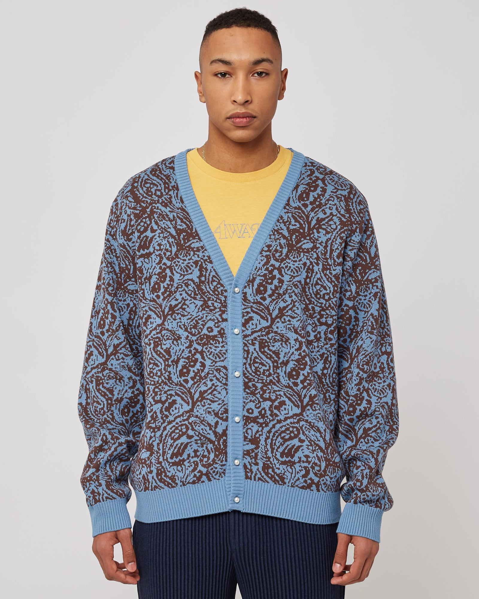 Paisley Cardigan in Carolina
