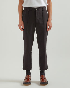 Permapress Slim Trouser in Black