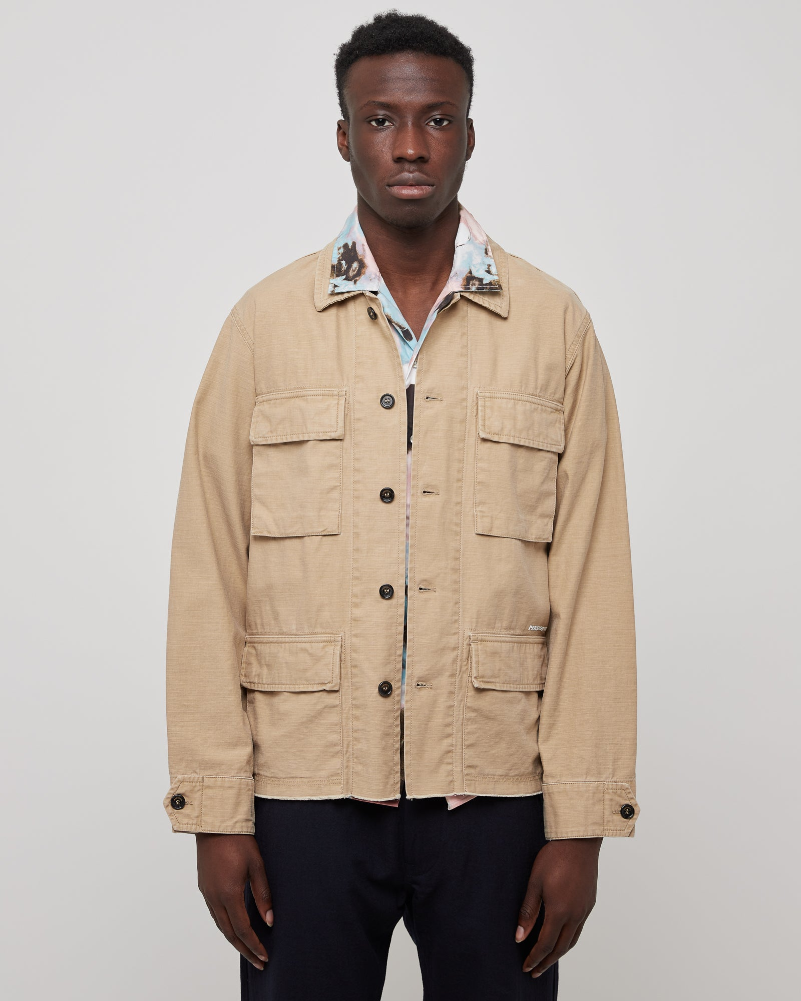 Salvation Jacket in Satin Beige