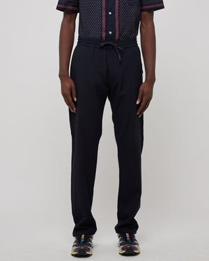 Tripoli Wool Trouser in Blue