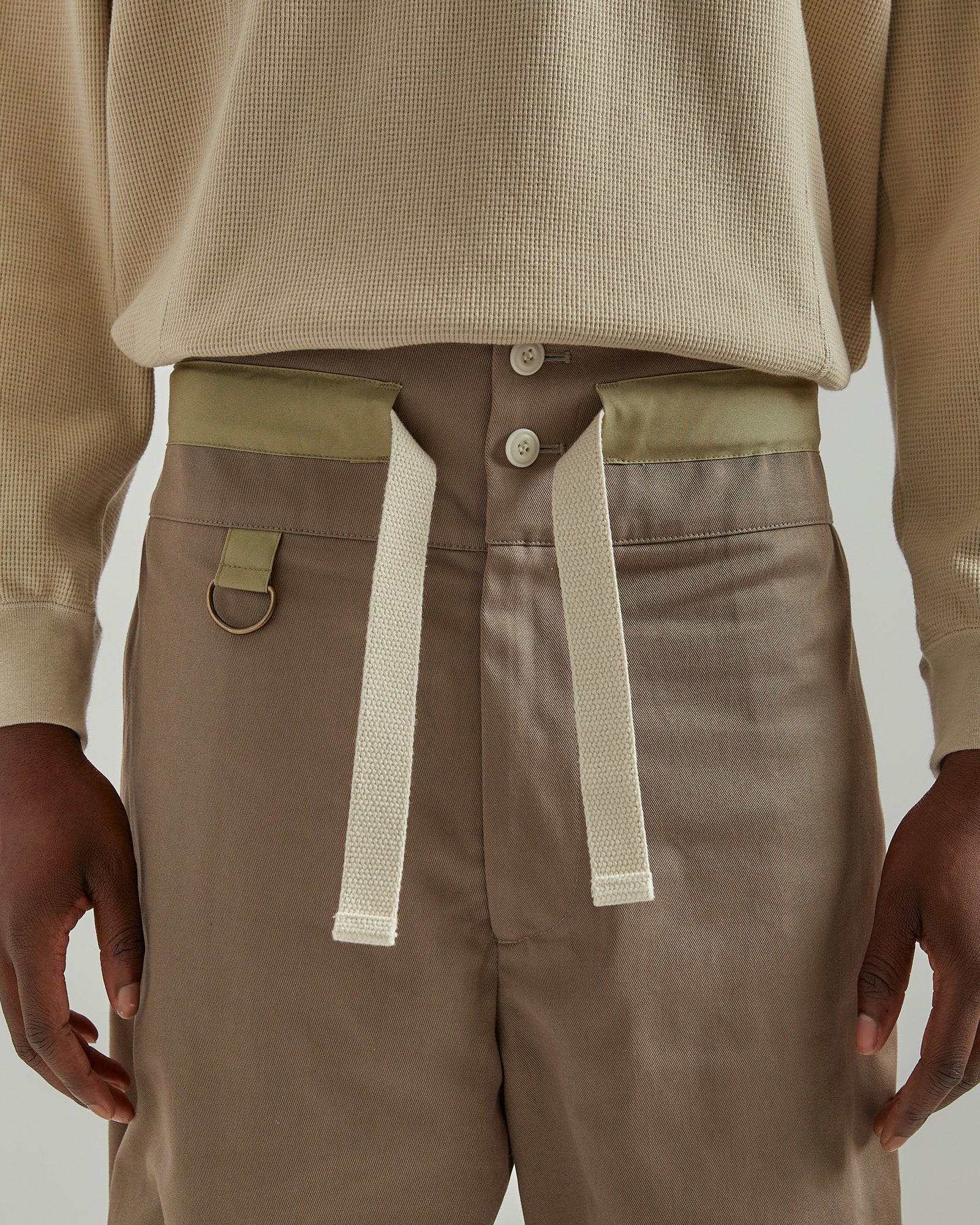 Pullcord Shorts in Khaki