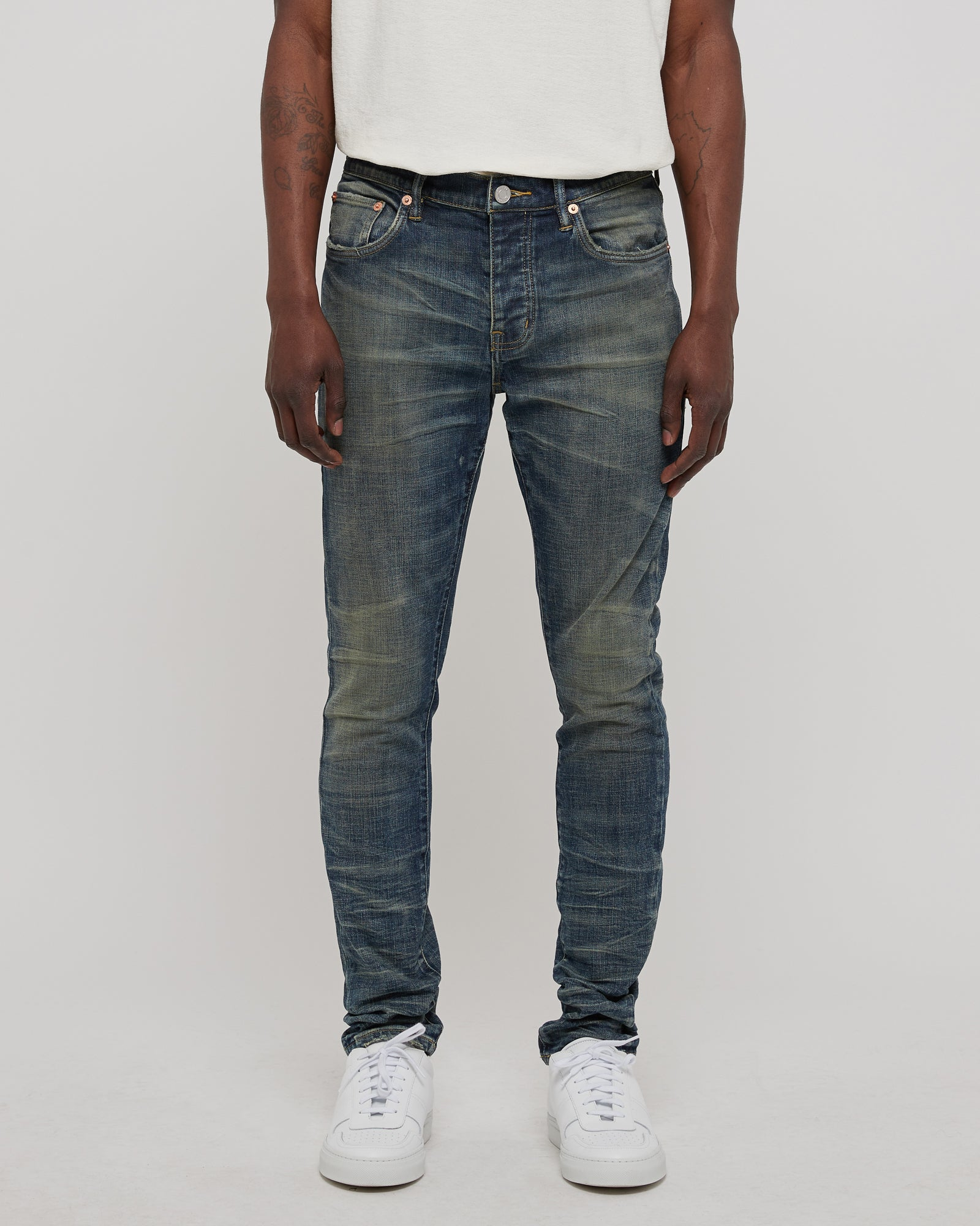 001 Slim Fit Denim in Gastown Vintage