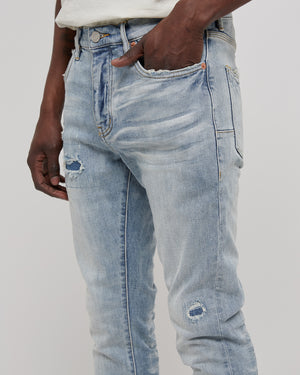 001 Slim Fit Denim in Super Light Indigo