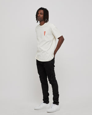101 T-Shirt in White/Pennant
